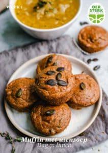 HW Week 1 Lunch Muffin uiensoep
